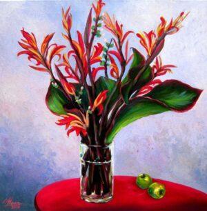 Tranh hoa dong