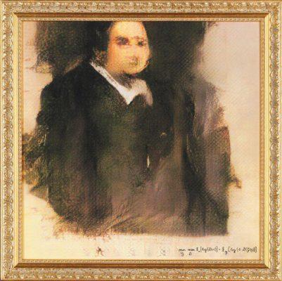 Bức tranh thực hiện bởi trí tuệ nhân tạo được nhà đấu giá Christie rao bán