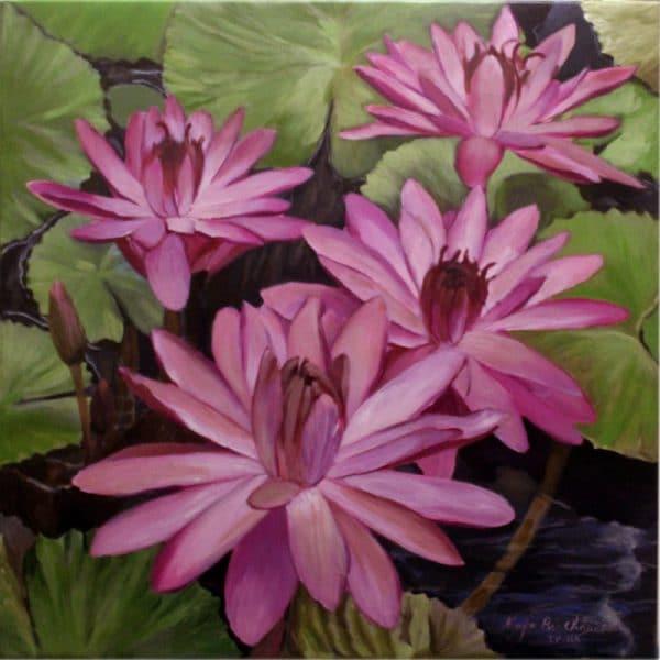 Bức tranh Hạ của họa sĩNguyễn Bảo Châu