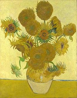Tranh hoa hướng dương của Van Gogh