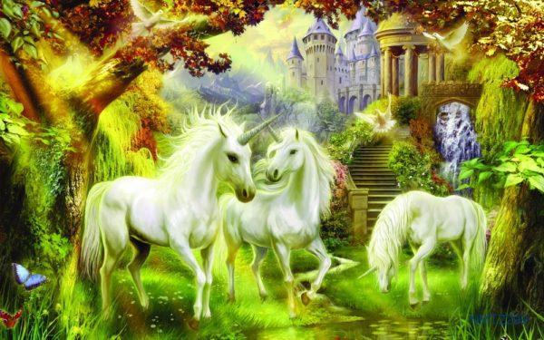 Tranh Dán Tường 3D ngựa thần
