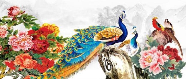 Tranh Phú Quý Mãn Đường