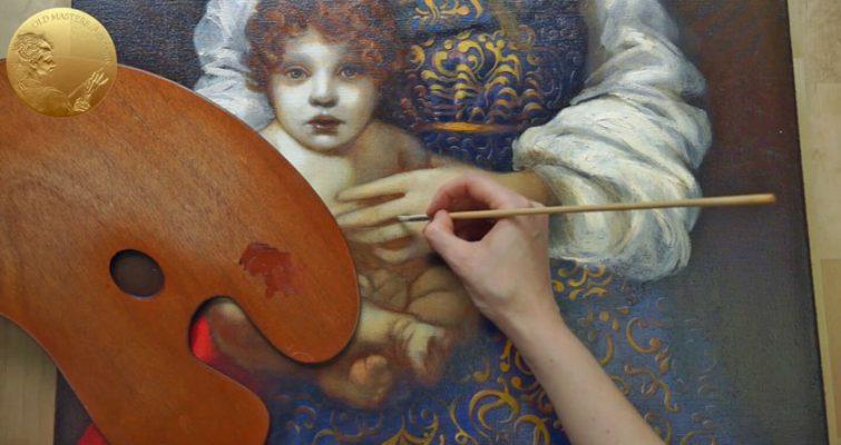 Làm sao để pha trộn màu sắc trong tranh sơn dầu phù hợp