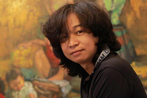 Chân dung họa sĩ Bùi Văn Tuất.