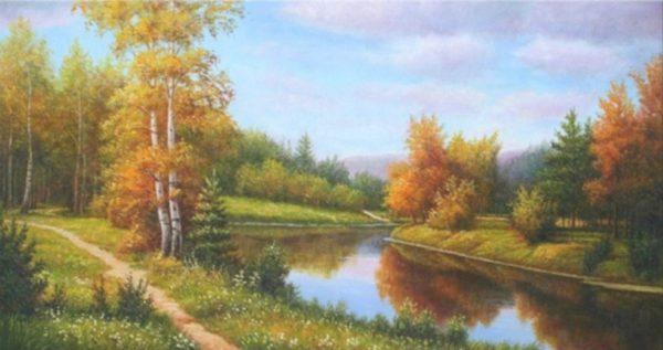 Tranh phong cảnh mùa thu