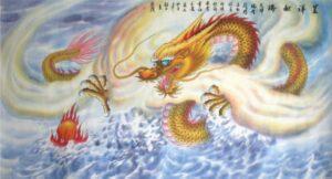 Tranh vẽ con Rồng