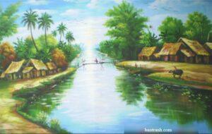Tranh Dòng sông