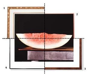 Cách lựa chọn khung tranh để phù hợp với bức tranh