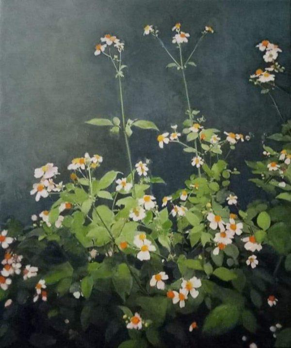 Tranh Hoa mùa hạ