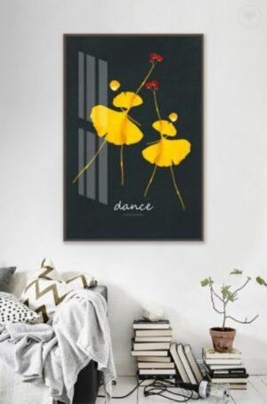 Tranh canvas dance 1