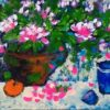 Tranh Tĩnh vật hoa tháng 5