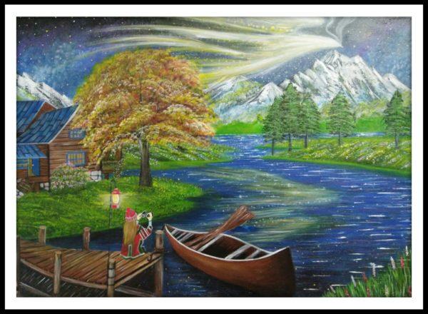 Tranh vẽ phong cảnh