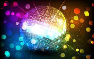 Tranh dán tường 3D Điệu Disco đêm nay