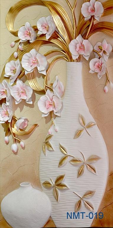 Tranh dán tường 3D Hoa lan