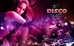 Tranh dán tường 3D The Disco Night