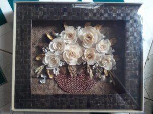 Tranh Lẳng hoa phú quý