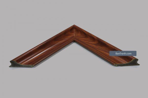 Khung hình ảnh kiểu vân gỗ basic mang phong cách hiện đại