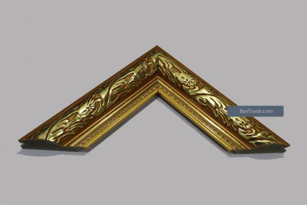 Khung hình ảnh màu hoạ tiết vàng đặc biệt nổi bật và đẹp