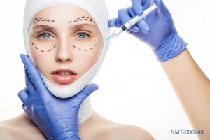 Tranh dán tường 3D Spa Phẫu thuật thẩm mỹ