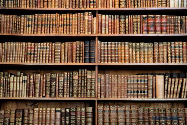 Tranh dán tường 3D Thư viện Sách