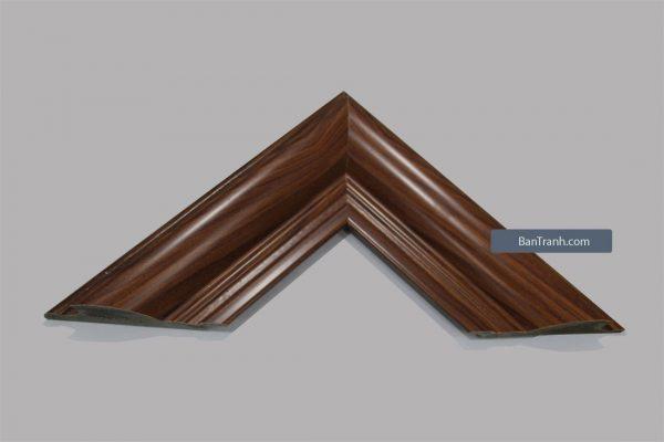 Khung hình ảnh kiểu gỗ màu nâu đơn giản và đẹp