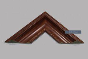 Khung hình ảnh kiểu gỗ nâu bản to họa tiết chìm đẹp và tinh tế