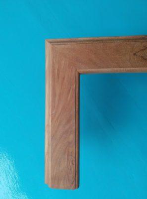 Khung tranh gỗ gõ đỏ bản to đẹp và chất lượng cao