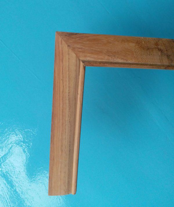 Khung tranh gỗ thiết kế đơn giản đẹp mà hiện đại