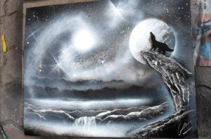 Tranh trăng sói