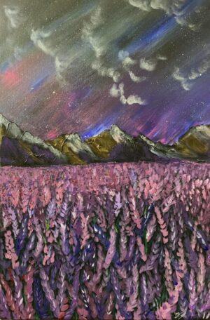 Tranh Dạ khúc lavender