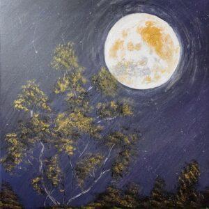 Tranh full moon
