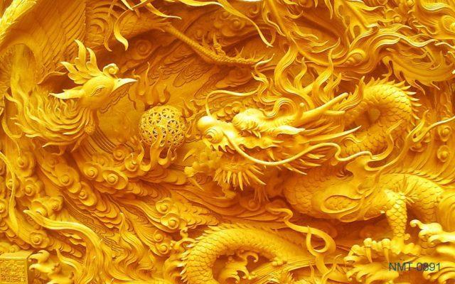 5 bức tranh 3D Long Phụng Sum Vầy được yêu thích nhất