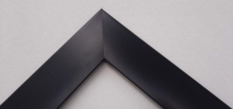 Khung tranh màu đen bề mặt phẳng mịn đơn giản và đẹp
