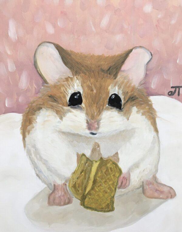 Tranh Chuột Hamster