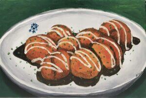 Tranh Bánh bạch tuộc 2h sáng