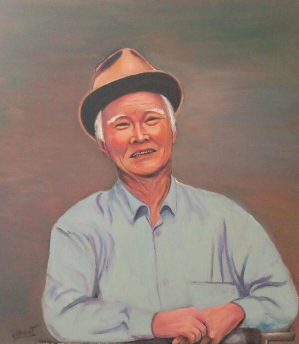 Tranh Nhạc sỹ Nguyễn Văn Tý