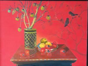 Tranh Những trái hồng
