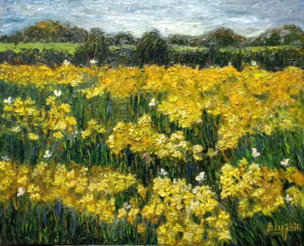 Tranh Mùa hoa 1