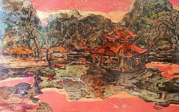 Tranh Chiều Sài Sơn
