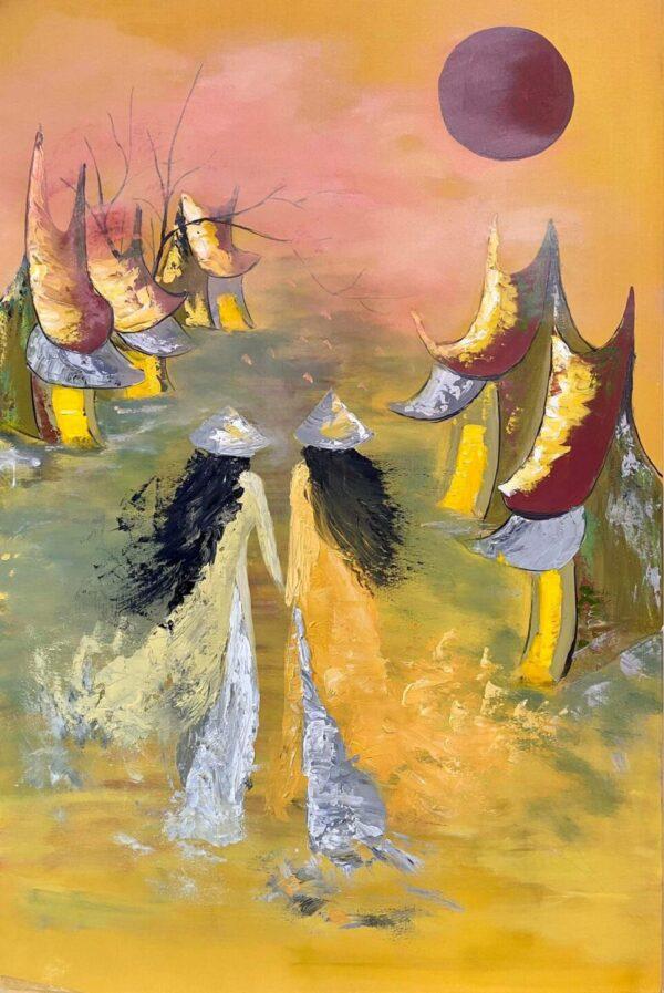 Tranh Sương Bay