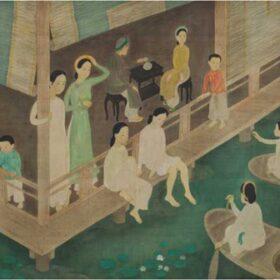 Những bức tranh của Việt Nam được thế giới trả giá bạc tỷ
