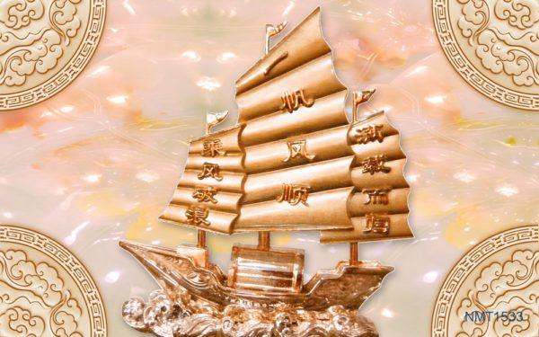 6 bức tranh thuận buồm xuôi mang gió tài lộc đến cho bạn