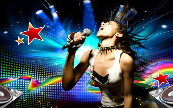 8 bức tranh 3D cho quán karaoke thêm đẹp và hấp dẫn