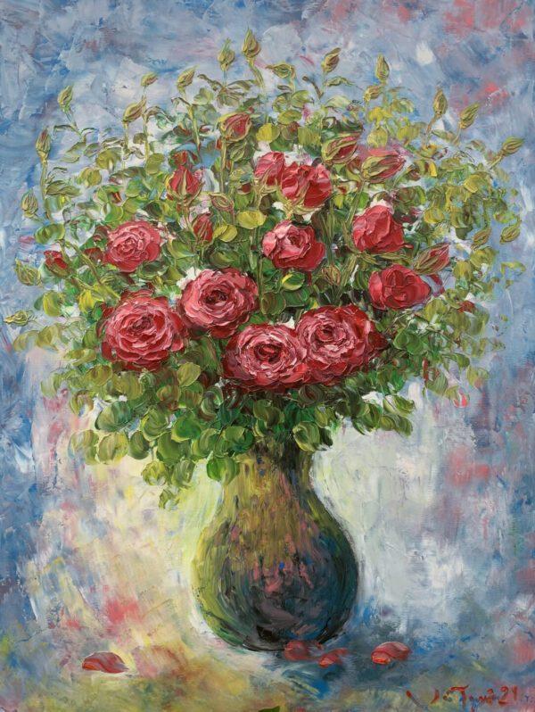 Tĩnh vật hoa hồng