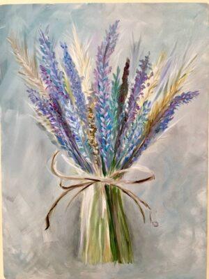 Hoa oải hương mỏng manh