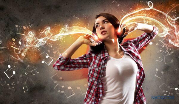 Tranh dán tường 3D âm nhạc đến mọi không gian