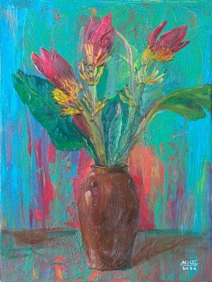 Hoa chuối rừng 2