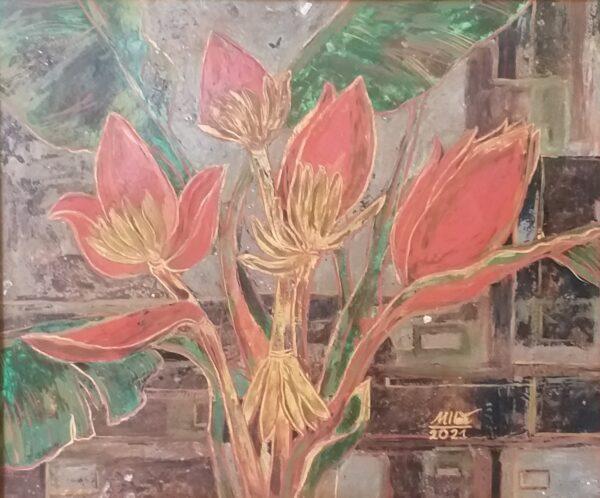 Hoa chuối rừng 3