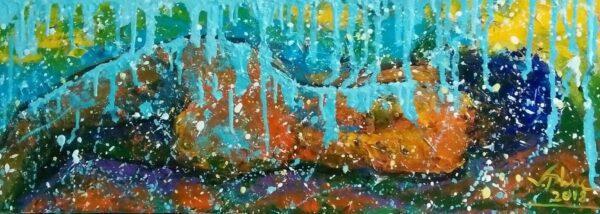 Thiếu nữ tắm mưa