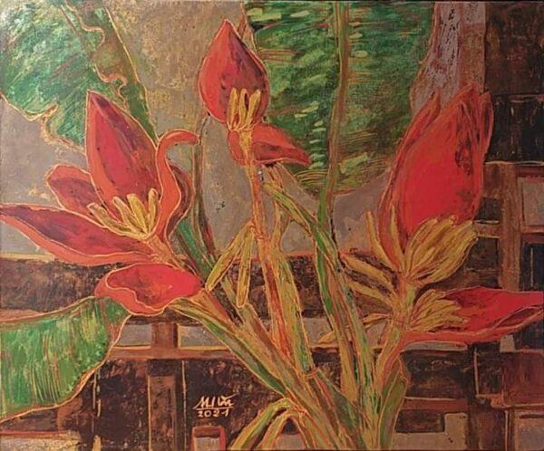 Hoa chuối rừng